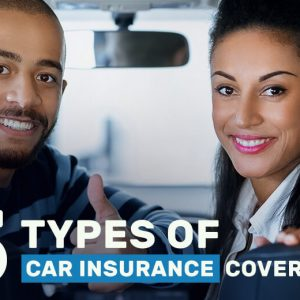 Types Of Car Insurance Coverage >> Car Insurance Coverage 5 Types Of Car Insurance Coverage